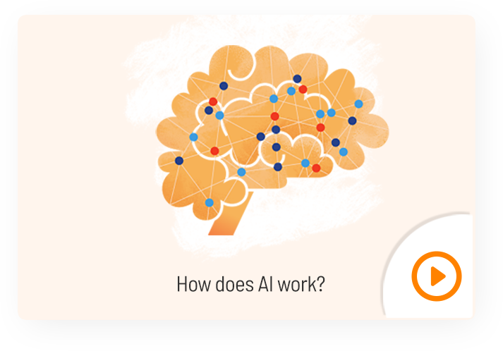 How does AI work?