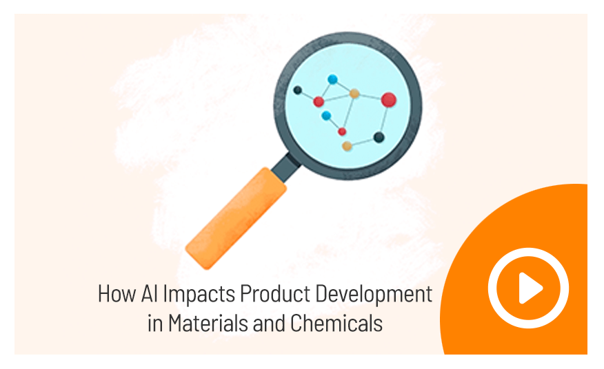 How AI impacts product development in materials and chemicals